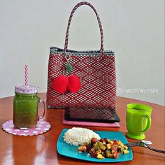 The perfect breakfast with my Fresa Kiwi bag