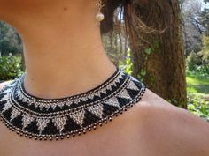 Collar artesanía mexicana
