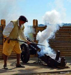 Costumed interpreters help illustrate life in St. Augustine when it was under Spanish rule at Ponce de Leon's The Fountain of Youth Archeological Park