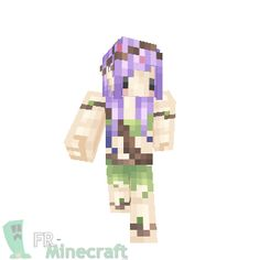 Minecraft : Skin Minecraft : Elfe de la foret