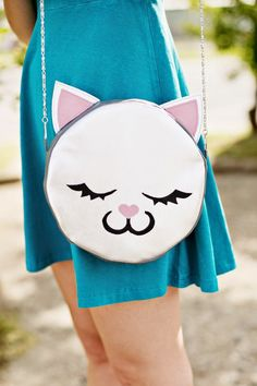 Coisinhas a Mais Etc e Tal: I Love Cats bag tutorial diy