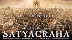 Here is information about Upcoming Bollywood movie Satyagraha, its release date, posters and Trailer.
