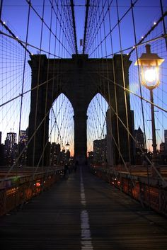 The Brooklyn Bridge - one of the world's most unique bridges on our list!