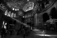"""Hagia Sophia Museum: Hagia Sophia is the one of the most visited museums and most prominent monuments in the world in terms of art and the history of architecture. It has also been called """"the eighth wonder of the world"""" by East Roman Philon as far back as the 6th century. It was used as a church for 916 years but, following the conquest of Istanbul by Fatih Sultan Mehmed, the Hagia Sophia was converted into mosque. Under the order of Atatürk, Hagia Sophia was converted into a museum in 1935. (©"""