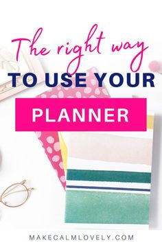 Learn the right way to effectively use your daily planner, so that you get more organized and productive Life Organization, Organizing, Family Organizer, Organize Your Life, Busy Life, Getting Organized, Being Used, Learning, Tips