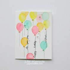Cotton Candy Balloons… | Paper Trufflez | Bloglovin'