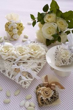 Diy Wedding, Wedding Gifts, Engagement Ring Holders, Ring Pillow, Gift Packaging, Shabby Chic, Bouquet, Table Decorations, Weddings