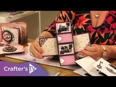 cardmaking video tutorial from Crafter's Companion: Gemini Dimensionals Precious Memories Twist & Pop dies Memory Album, Memory Books, Pop Out Cards, Crafters Companion Gemini, Diy Crafts For Girls, Interactive Cards, Card Making Tutorials, Homemade Cards, Mini Albums
