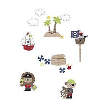 """Kids Line Pirate Party Wall Decals - Kids Line - Babies """"R"""" Us"""