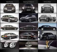 Bentley, Maybach e RR