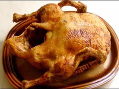 Ente ganz knusprig zubereiten - YouTube Recipies, Toast, Pork, Chicken, Breakfast, Youtube, Meat, Budget Cooking, Oven