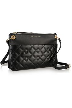 Marc by Marc Jacobs|Tread Lightly quilted textured-leather shoulder bag|NET-A-PORTER.COM