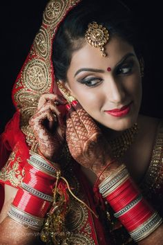 Beautiful indian bride by Gitesh