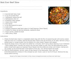 Best stew ever
