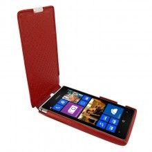 Capa Lumia 925 Piel Frama iMagnum - Vermelho  R$263,47