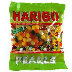 -in USA- Haribo PEARLS gummy candy - 325 g
