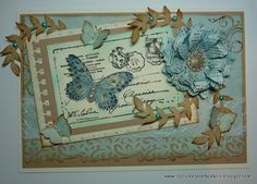 So many beautiful cards with dimensional flowers and butterflies. You've got to check this site out.