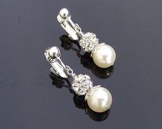 Clip-on Beautiful Pearl