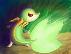 Late night Snivy by Dark-wings-eagle on DeviantArt