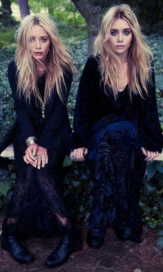 BLUE VELVET WITH BLACK..