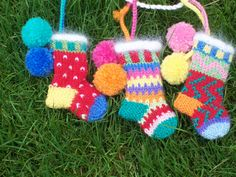 Ravelry: MarjiBeth's Tiny Christmas Sock