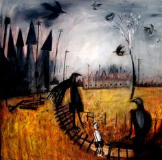 Glenn Brady January 23, 2011 On your timeline · Hide crows factories and me..100cmx100cm