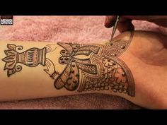 Mehndi For Karwa chauth | Excellent Intricate Full Hand Mehndi Design For Shagun Festivals 2017 - YouTube