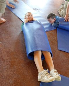 A ton of arts & crafts & literacy ideas to integrate with Yoga!
