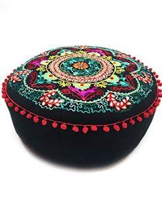 Orientalisches Sitzkissen mit Stickerei Jivan - 2 -