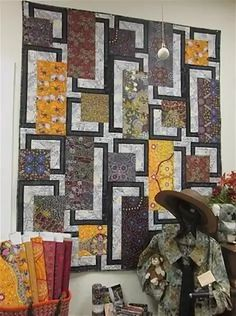Яндекс.Картинки: поиск похожих изображений Big Block Quilts, Quilt Blocks, Quilting Projects, Quilting Designs, Art Quilting, African Quilts, African Fabric, Cat Quilt Patterns, Quilt Modernen