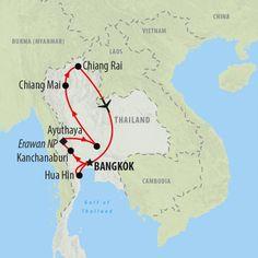 Bangkok, Beach & Beyond is a 13 day Thailand tour. On this group tour discover bustling Bangkok, ancient Ayuthaya, Chiang Mai & Chiang Rai, before relaxing on Hau Hin beach.