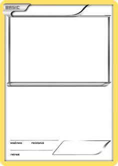 Diy pokemon cards free printable template design kid for Pokemon templates print