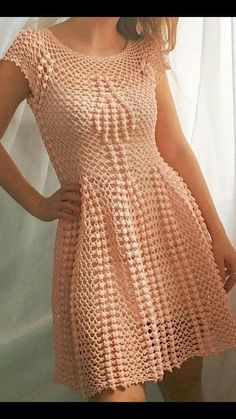 People desire to stay looking youthful for as long as they can, and they would do anything to … em 2020 Mode Crochet, Crochet Lace, Crochet Wedding, Unique Crochet, Crochet Cardigan, Knit Dress, Clothing Patterns, Dress Patterns, Crochet Woman