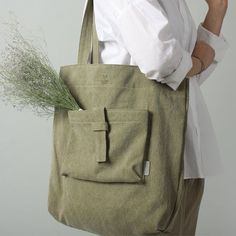 Seeds of Love Green Canvas /& Cowhide Recycled Bag Canvas Hair Shoulder Purse