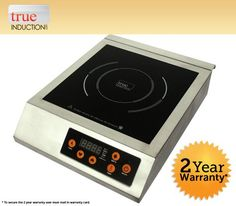 True Induction F-IH-03SS  3200W Commercial Single Induction Cook Top 220V For Sale https://bestelectricsmokerreviews.info/true-induction-f-ih-03ss-3200w-commercial-single-induction-cook-top-220v-for-sale/