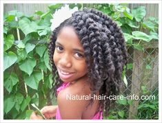 Twist Out Tutorial, Two Strand Twists Natural Hair