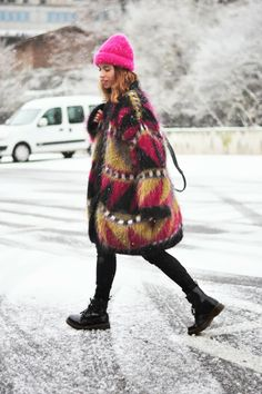 dansvogue: Look 09/12/2013, Snow and Fur