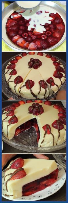 "Gelatina de Leche Condensada Rellena de Frutos Rojos "" By Sazonando a mi Estilo. #gelatina #lechecondensada #rellena #frutosrojos #frutas #gelato #cheesecake #postres #dulces #tips #cake #pan #panfrances #panettone #panes #pantone #pan #recetas #recipe #casero #torta #tartas #pastel #nestlecocina #bizcocho #bizcochuelo #tasty #cocina #chocolate Si te gusta dinos HOLA y dale a Me Gusta MIREN …"