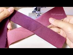 ⭐️Awesome sewing tips and tricks for beginners | Collar sewing techniques | V neck, Gather neck - YouTube Sewing Hacks, Sewing Tutorials, Sewing Tips, Sewing Projects, Sleeves Designs For Dresses, Sleeve Designs, Techniques Couture, Sewing Techniques, Sewing Collars