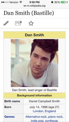 bastille dan smith wiki