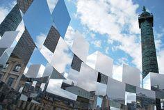 為巴黎街頭創造奇幻空間的鏡面裝置藝術   大人物