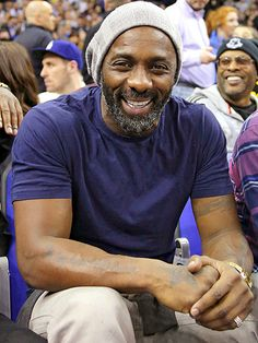 Star Tracks: Friday, January 16, 2015 | COURTSIDE CLOSEUP | Idris Elba has the best seat in the house at London's 02 Arena, where the Luther star took in the NBA Global games on Thursday.