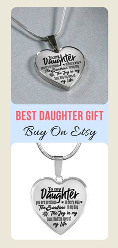 Beautiful To My Daughter Necklace From Dad