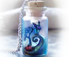 The Nightmare Before Christmas bottle makes the ideal accessory for any geeky outfit. This handmade pendant creates a surreal landscape inspired by the...