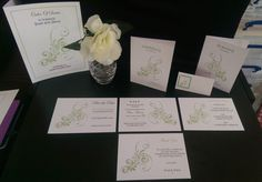 10 Handmade Invitation/save the date SOPHIE FLORAL - All Occasions