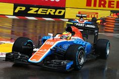 2016 GP Monaco (Rio Haryanto) Manor MRT05 - Mercedes