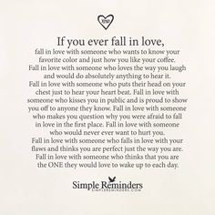 How you know you are falling in love