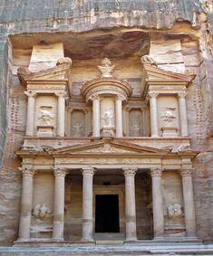 Al Khazneh, Petra, Jordania
