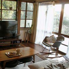 185さんの、リビング,観葉植物,ソファ,ロッキングチェア,古民家,リノベーション,日本家屋,古民家リフォーム,古民家リノベーション,古民家暮らし,のお部屋写真