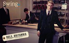 'Rule, Britannia': Harry Goodwins para GQ México Diciembre 2014/Enero 2015